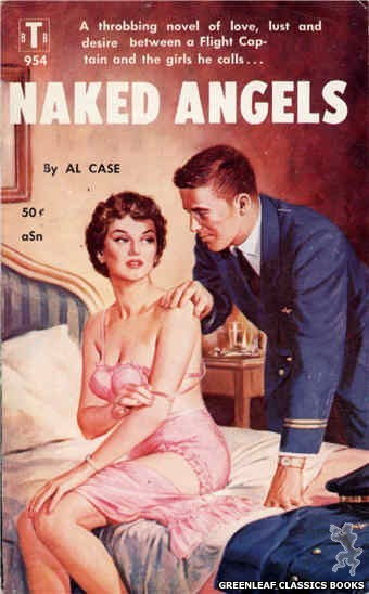 Bedside Books BTB 954 - Naked Angels by Al Case, cover art by Unknown (1959)