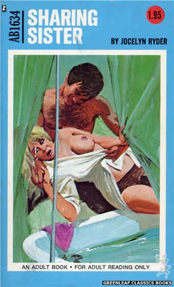 Adult Books AB1634 - Sharing Sister by Jocelyn Ryder, cover art by Unknown (1972)