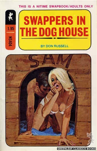 Nitime Swapbooks NS404 - Swappers In The Dog House by Don Russell, cover art by Robert Bonfils (1970)