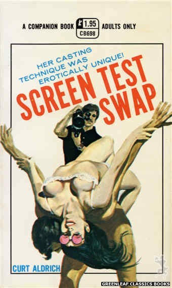 Companion Books CB698 - Screen Test Swap by Curt Aldrich, cover art by Ed Smith (1971)