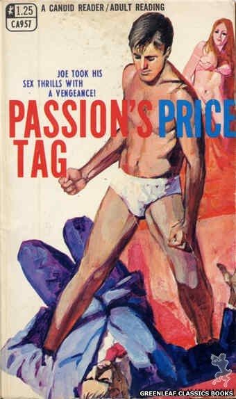 Candid Reader CA957 - Passion's Price Tag by Alan Marshall, cover art by Unknown (1968)