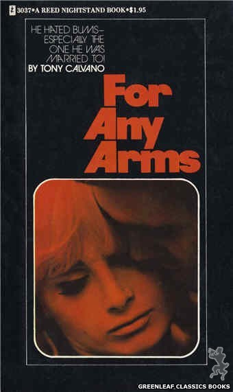 Reed Nightstand 3037 - For Any Arms by Tony Calvano, cover art by Photo Cover (1973)