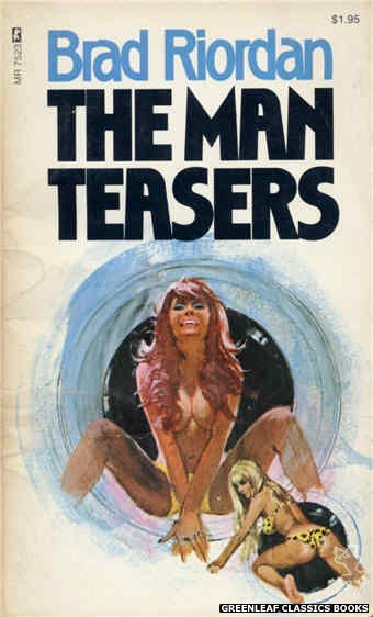 Midnight Reader 1974 MR7523 - The Man Teasers by Brad Riordan, cover art by Unknown (1974)