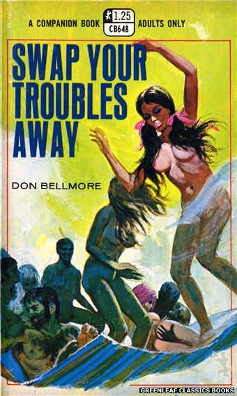 Companion Books CB648 - Swap Your Troubles Away by Don Bellmore, cover art by Robert Bonfils (1970)