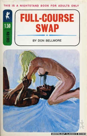Nightstand Books NB1983 - Full-Course Swap by Don Bellmore, cover art by Ed Smith (1970)