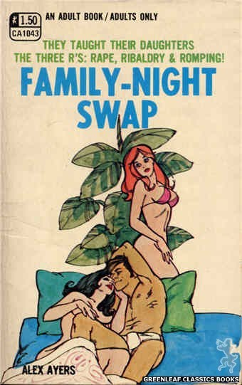 Candid Reader CA1043 - Family-Night Swap by Alex Ayers, cover art by Unknown (1970)