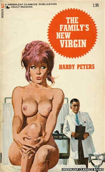 Nitime Swapbooks NS503 - The Family's New Virgin by Hardy Peters, cover art by Robert Bonfils (1972)