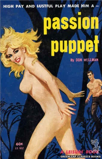 Leisure Books LB602 - Passion Puppet by Don Wellman, cover art by Unknown (1963)