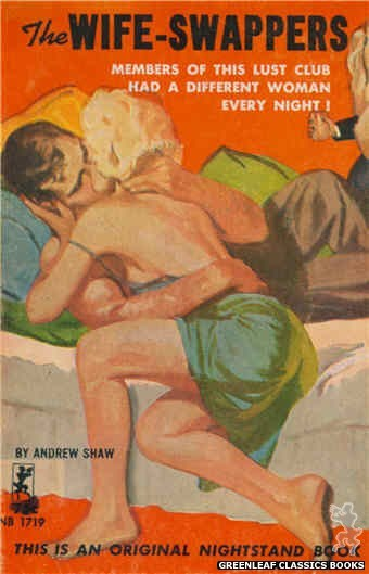 Nightstand Books NB1719 - The Wife-Swappers by Andrew Shaw, cover art by Unknown (1964)