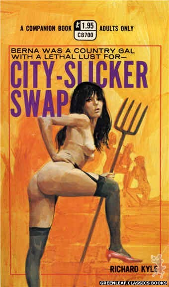 Companion Books CB700 - City-Slicker Swap by Richard Kyle, cover art by Unknown (1971)