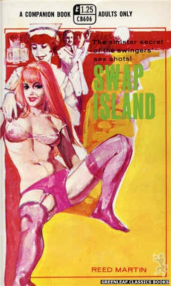 Companion Books CB606 - Swap Island by Reed Martin, cover art by Unknown (1969)