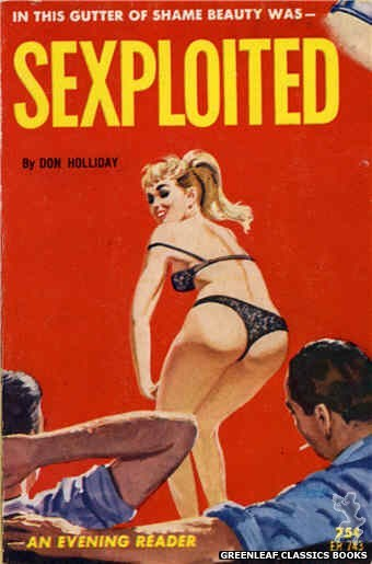 Evening Reader ER743 - Sexploited by Don Holliday, cover art by Unknown (1964)