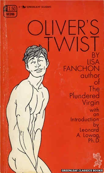Greenleaf Classics GC396 - Oliver's Twist by Lisa Fanchon, cover art by Unknown (1969)
