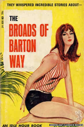 Idle Hour IH500 - The Broads of Barton Way by Curt Aldrich, cover art by Unknown (1966)