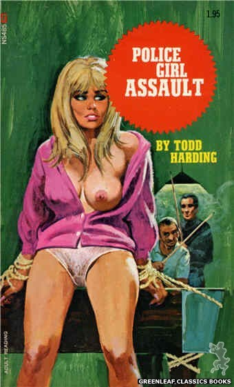 Nitime Swapbooks NS485 - Police Girl Assault by Todd Harding, cover art by Robert Bonfils (1972)