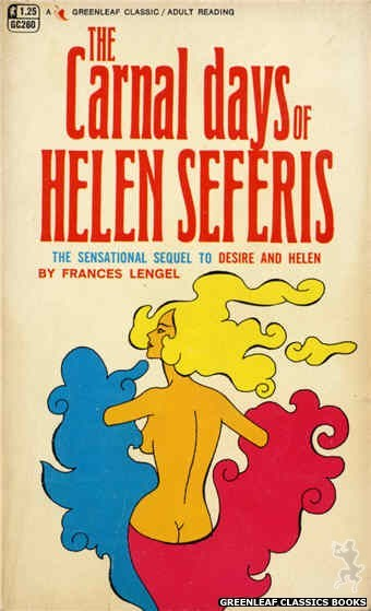 Greenleaf Classics GC260 - The Carnal Days Of Helen Seferis by Frances Lengel, cover art by Unknown (1967)