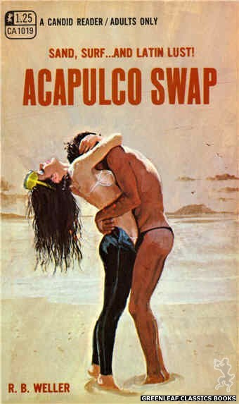 Candid Reader CA1019 - Acapulco Swap by R.B. Weller, cover art by Robert Bonfils (1970)