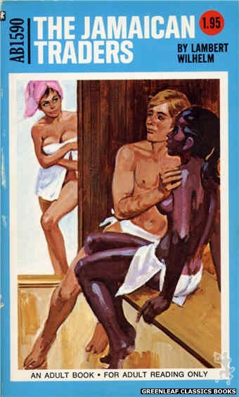 Adult Books AB1590 - The Jamaican Traders by Lambert Wilhelm, cover art by Unknown (1971)
