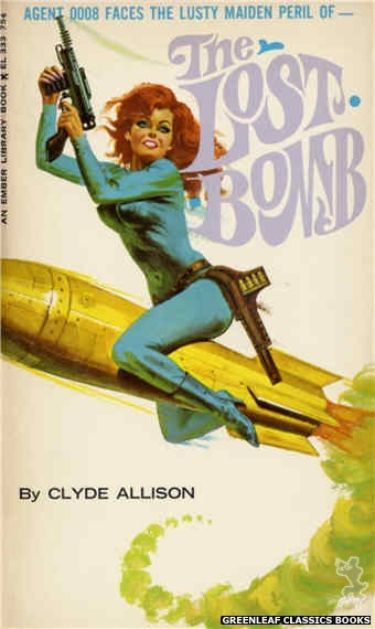 Ember Library EL 333 - The Lost Bomb by Clyde Allison, cover art by Robert Bonfils (1966)