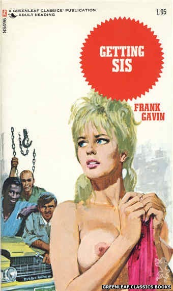 Nitime Swapbooks NS496 - Getting Sis by Frank Gavin, cover art by Robert Bonfils (1972)