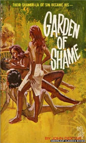 Ember Library EL 323 - Garden Of Shame by John Dexter, cover art by Robert Bonfils (1966)