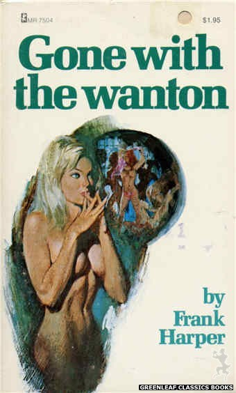 Midnight Reader 1974 MR7504 - Gone With The Wanton by Frank Harper, cover art by Unknown (1974)