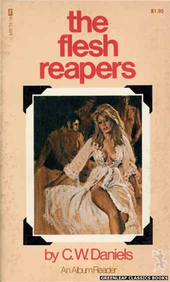 Midnight Reader 1974 MR7519 - The Flesh Reapers by C.W. Daniels, cover art by Unknown (1974)