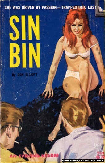 Evening Reader ER729 - Sin Bin by Don Elliott, cover art by Unknown (1964)