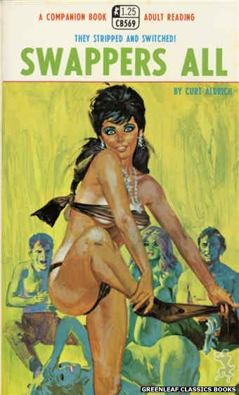 Companion Books CB569 - Swappers All by Curt Aldrich, cover art by Robert Bonfils (1968)