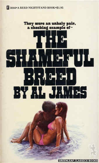 Reed Nightstand 3044 - The Shameful Breed by Al James, cover art by Ed Smith (1973)