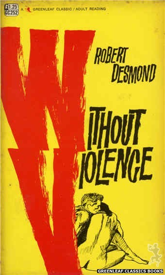 Greenleaf Classics GC252 - Without Violence by Robert Desmond, cover art by Unknown (1967)