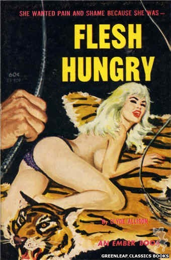 Ember Books EB929 - Flesh Hungry by Clyde Allison, cover art by Unknown (1964)