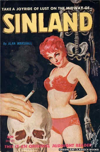 Midnight Reader 1961 MR413 - Sinland by Alan Marshall, cover art by Harold W. McCauley (1962)