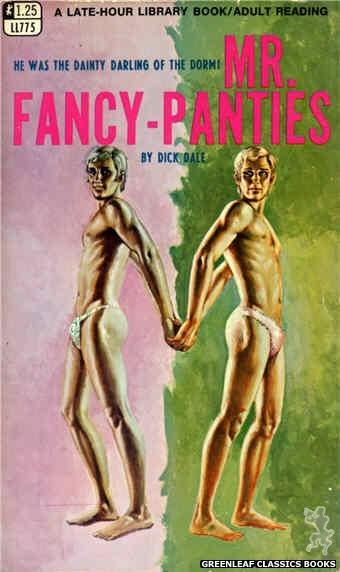 Late-Hour Library LL775 - Mr. Fancy-Panties by Dick Dale, cover art by Ed Smith (1968)