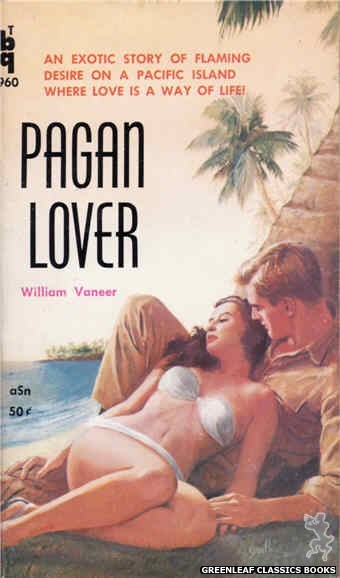 Bedside Books BTB 960 - Pagan Lover by William Vaneer, cover art by Duillo (1960)