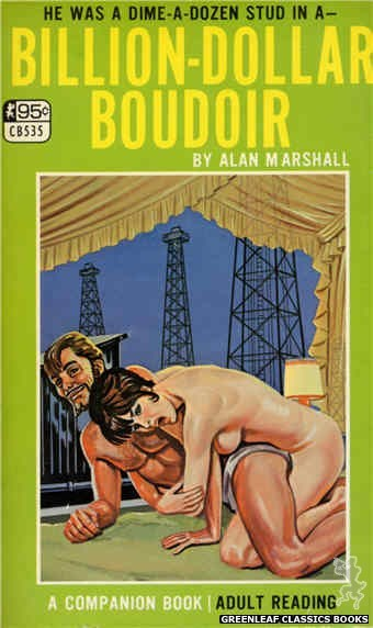 Companion Books CB535 - Billion-Dollar Boudoir by Alan Marshall, cover art by Tomas Cannizarro (1967)