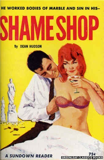 Sundown Reader SR501 - Shame Shop by Dean Hudson, cover art by Unknown (1964)