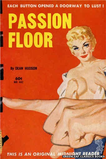 Midnight Reader 1961 MR442 - Passion Floor by Dean Hudson, cover art by Unknown (1962)