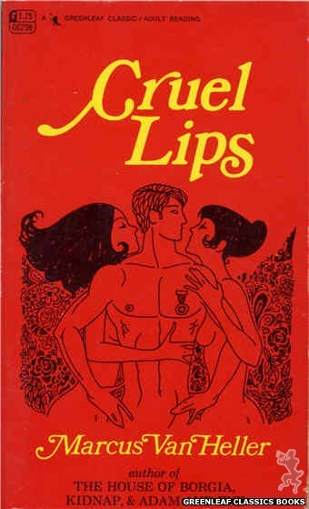 Greenleaf Classics GC298 - Cruel Lips by Marcus Van Heller, cover art by Unknown (1968)