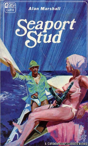 Candid Reader CA910 - Seaport Stud by Alan Marshall, cover art by Robert Bonfils (1967)