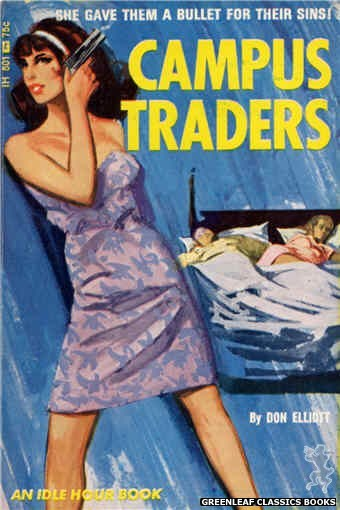 Idle Hour IH501 - Campus Traders by Don Elliott, cover art by Unknown (1966)