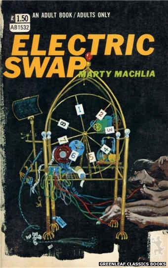 Adult Books AB1532 - Electric Swap by Marty Machlia, cover art by Robert Bonfils (1970)