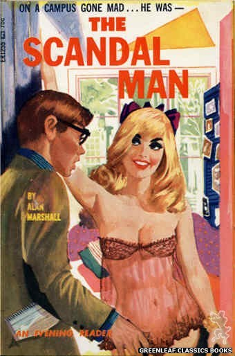 Evening Reader ER1255 - The Scandal Man by Alan Marshall, cover art by Unknown (1966)