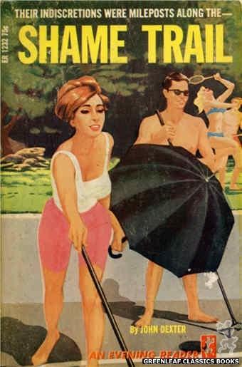 Evening Reader ER1232 - Shame Trail by John Dexter, cover art by Darrel Millsap (1966)
