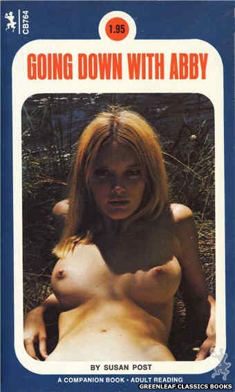 Companion Books CB764 - Going Down With Abby by Susan Post, cover art by Photo Cover (1972)
