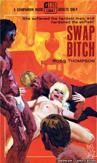 Companion Books CB641 - Swap Bitch by Ross Thompson, cover art by Robert Bonfils (1969)