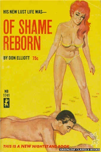 Nightstand Books NB1741 - Of Shame Reborn by Don Elliott, cover art by Unknown (1965)