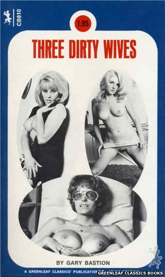 Companion Books CB810 - Three Dirty Wives by Gary Bastion, cover art by Photo Cover (1973)