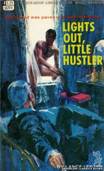 Late-Hour Library LL771 - Lights Out, Little Hustler by Lance Lester, cover art by Robert Bonfils (1968)
