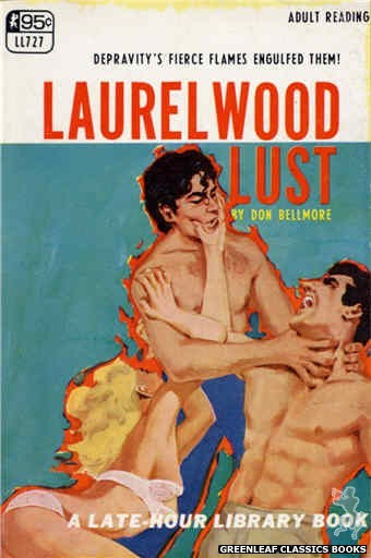 Late-Hour Library LL727 - Laurelwood Lust by Don Bellmore, cover art by Unknown (1967)